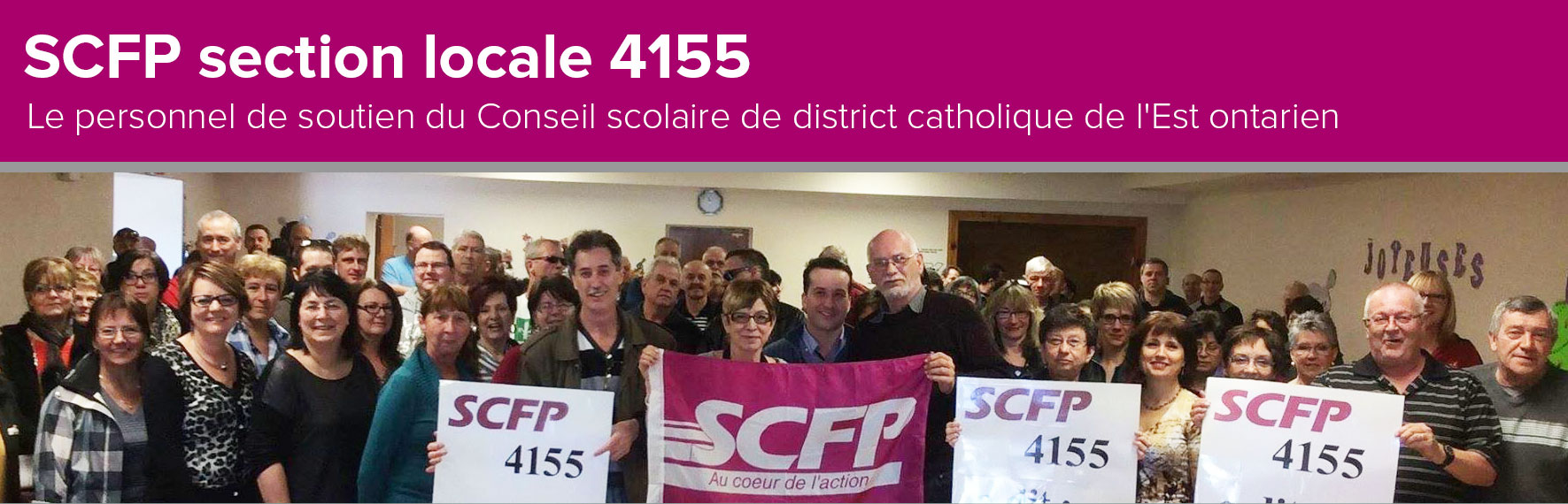 SCFP section locale 4155
